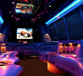 18 passenger party bus Miami