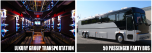 Miami party bus rental