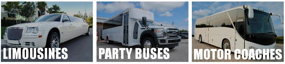 party bus limo rental brandon