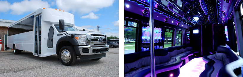 party bus pearl