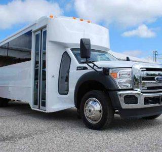 22 Passenger party bus rental Doral