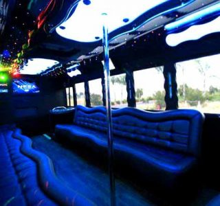 40 people party bus Pinecrest