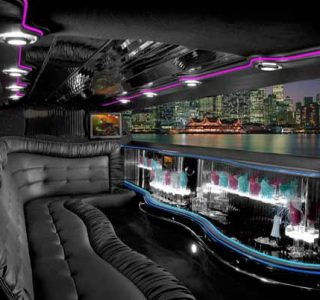 Chrysler 300 Sunrise limo interior