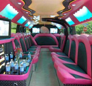 pink hummer limousine Hollywood