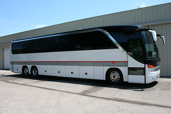 Miami 56 Passenger Charter Bus